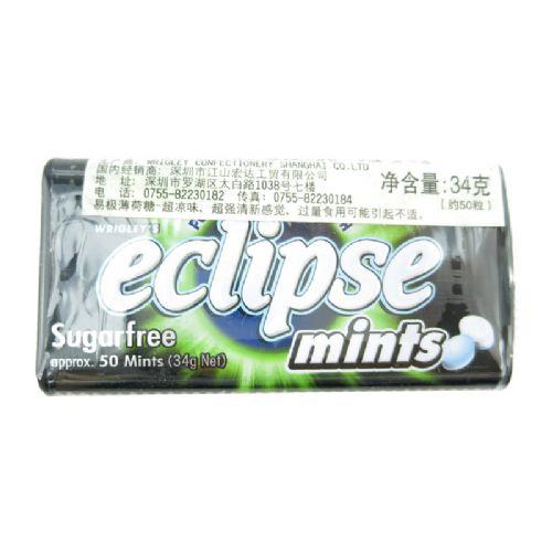 Eclipse易极无糖超强薄荷糖超凉味34g