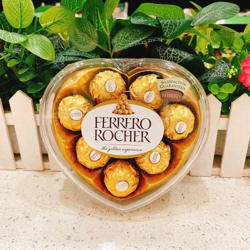 费列罗金莎爱心巧克力8粒装T8