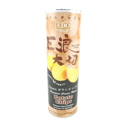 EDO巨浪大切薯片/原味150g