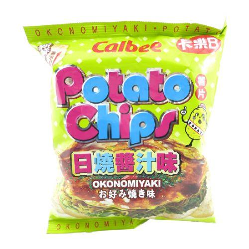 卡乐B薯片(日烧酱汁味)