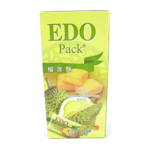 EDO pack榴莲酥154g