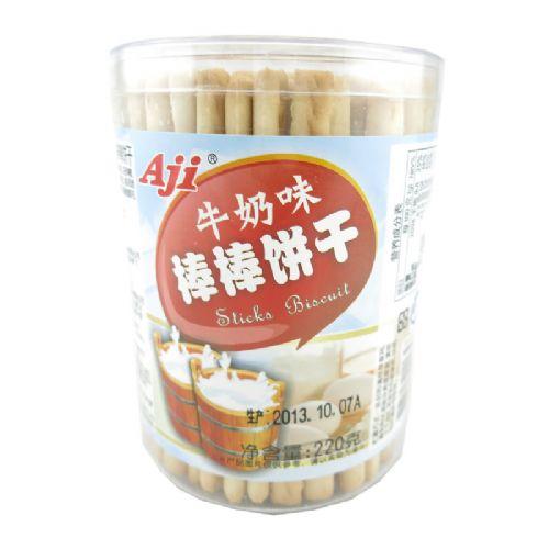 220gAji牛奶棒棒饼