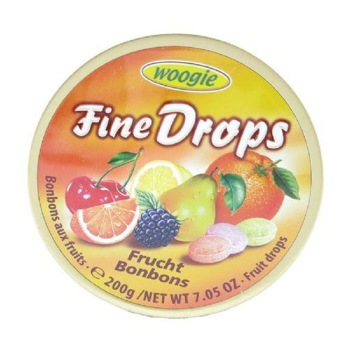 Woogie综合水果味糖果 柠檬 樱桃 野莓 硬糖 200g