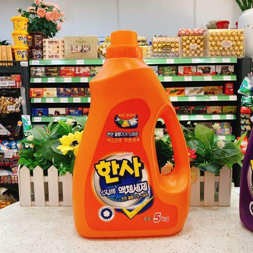 5KG韩国汉狮洗衣液A13(橙色)