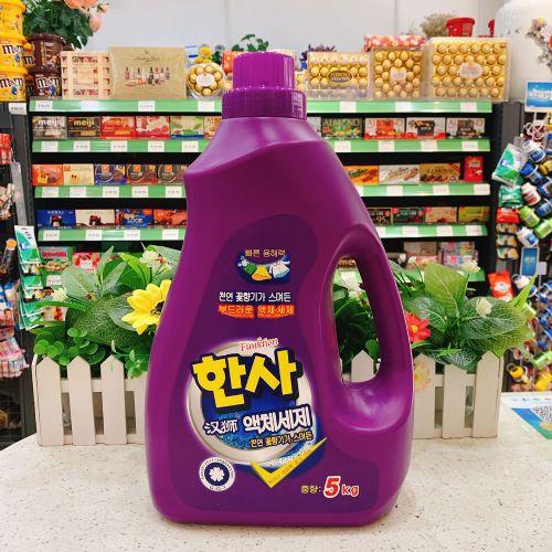 5KG韩国汉狮洗衣液A15(紫色)