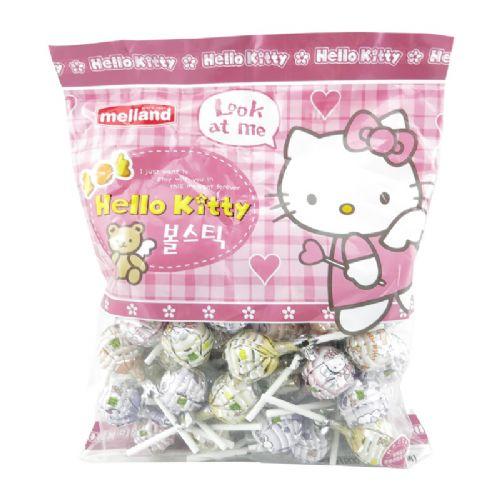 韩国MELLAND HELLO KITTY棒棒糖(粉色)500g