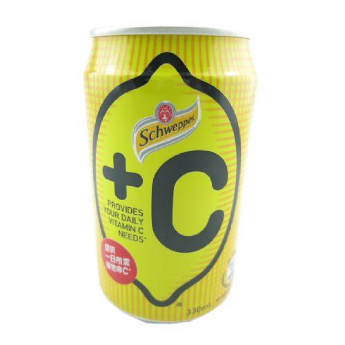香港玉泉+C柠檬味汽水330ML
