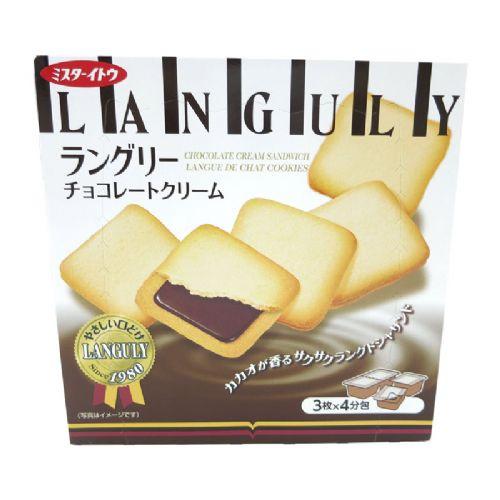 依度三文治夹心饼干12枚138g(巧克力味)