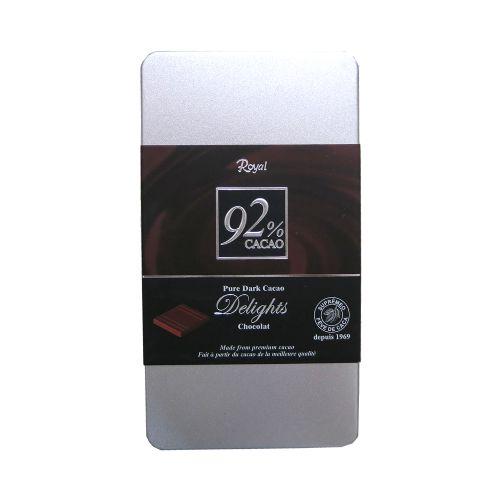 韩国Royal牌92%原味巧克力110g(铁盒)