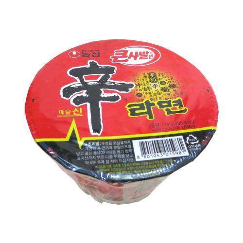 韩国辛字面碗装114G