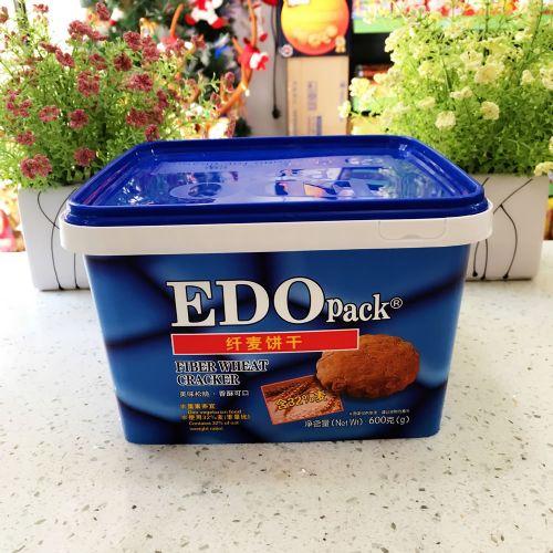 EDO Pack 纤麦饼干600g