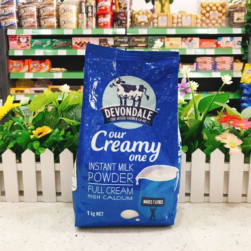 澳洲德运全脂奶粉1kg(袋装)