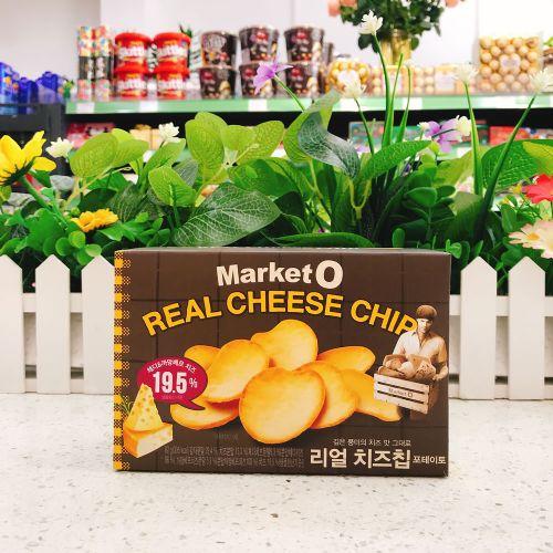 韩国好丽友MARKETO非油炸芝士脆有机薯片62g