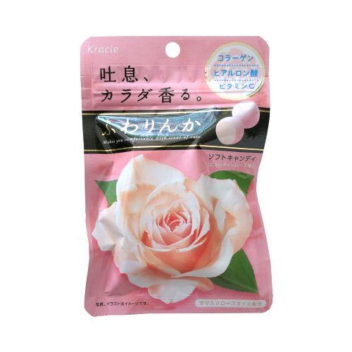 暮�u玫瑰花香糖32g(企袋)