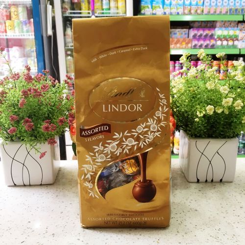 瑞士莲5种口味巧克力600g