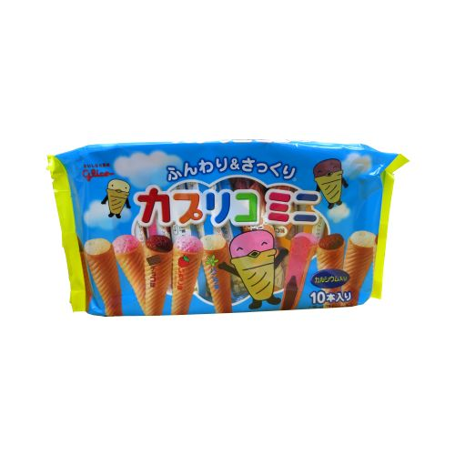 日本格力高三兄弟3口味甜筒冰泣淋雪糕89g10本入