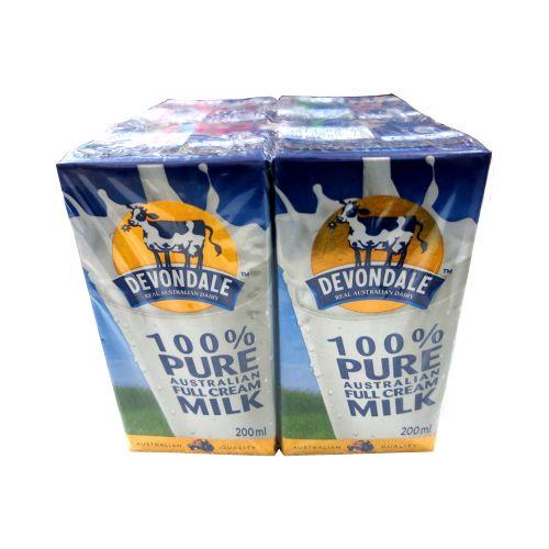 Devondale德运全脂牛奶200ml*6