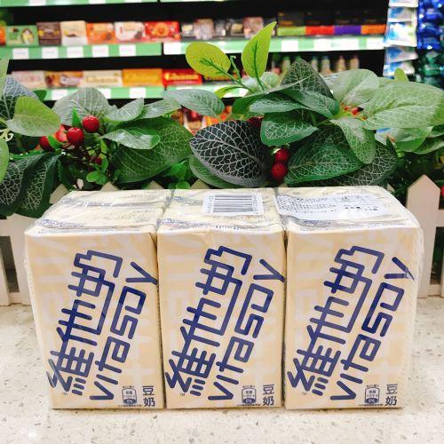 维他奶豆奶6盒装