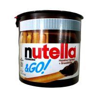 Nutella能多朱古力饼干条榛子酱手指饼干52g