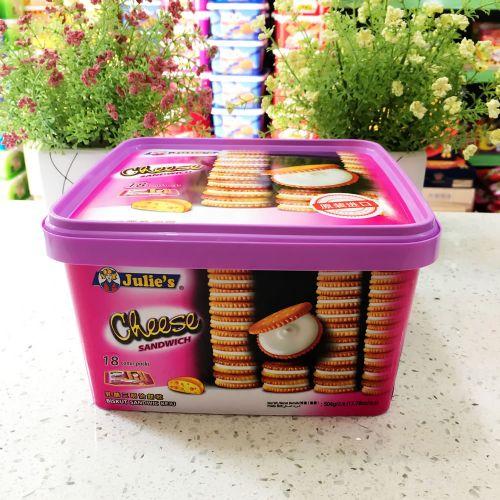 马来西亚Julie's茱蒂丝乳酪三文治饼干504g