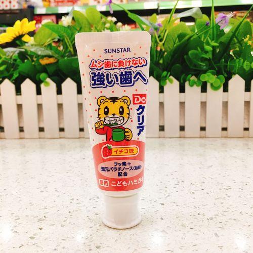 SUNSTAR儿童牙膏(草莓味)70g