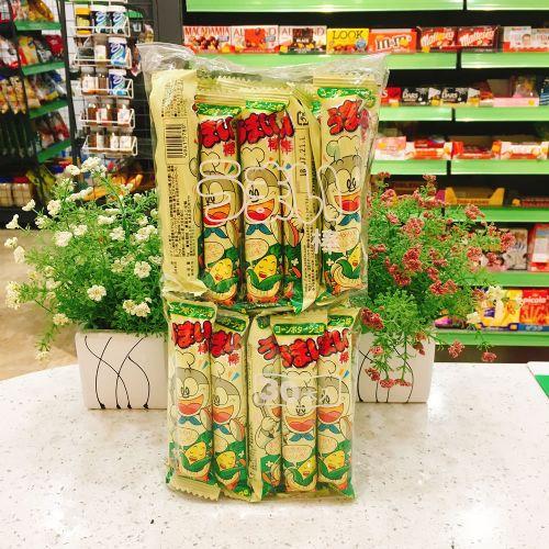 日本YAOKIN叮当杂菜味玉米棒30×6g
