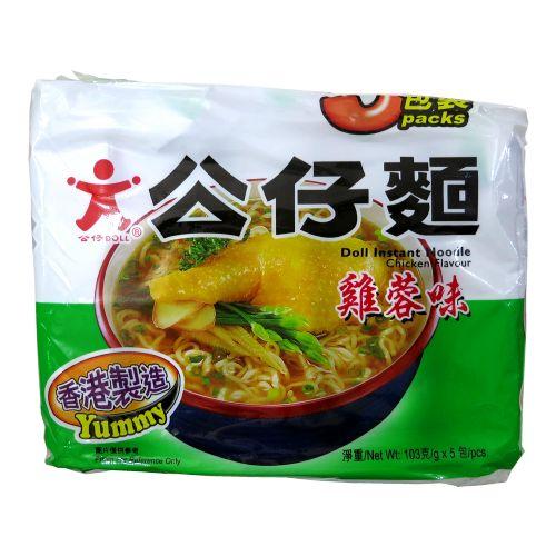 香港公仔面(鸡蓉味)5包装