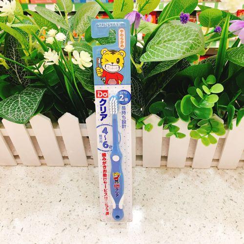 日本SUNSTAR三时达牙刷(幼儿园用4-6岁)