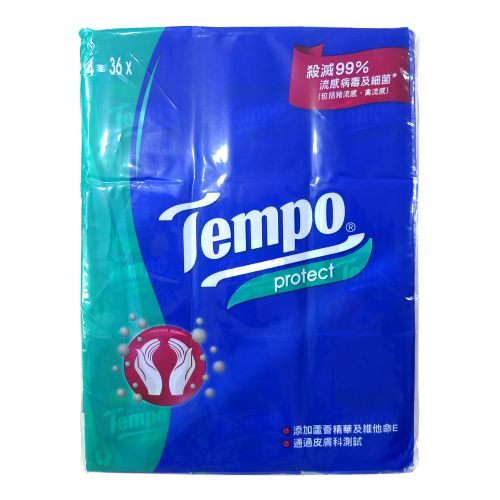 36包装Tempo得宝纸巾(芦荟)
