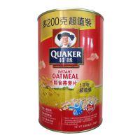 桂格即食燕麦片1000g(铁罐装)