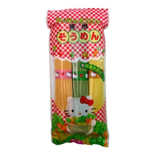 日本播州HELLO KITTY三色蔬菜拉面300g