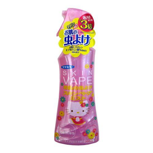 日本VAPE限量hello kitty防蚊液/蚊怕水/驱蚊喷雾 200ML