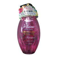 日本Kose高丝Jel'aime无硅滋润保湿洗发水(紫色甜美果香)500ml