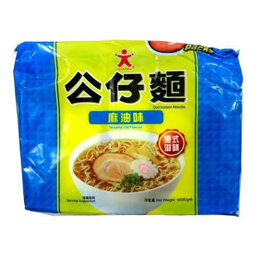 香港公仔面(麻油味)5包装