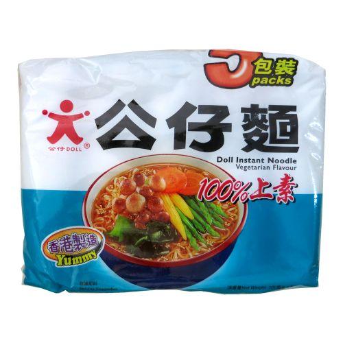 香港公仔面(100%上素)5包装