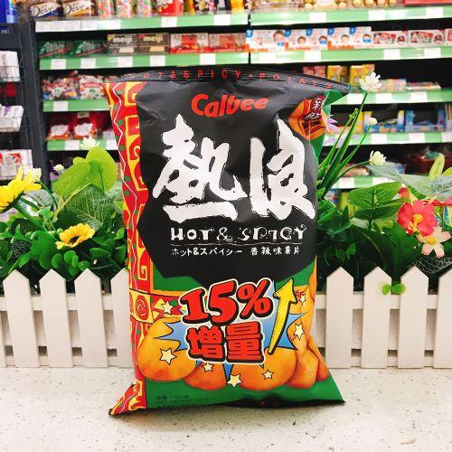 卡乐B热浪薯片香辣味105g