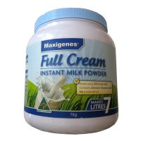 澳洲原装进口Maxigenes美可卓全脂高钙蓝胖子奶粉1kg装 3到60岁都可以吃