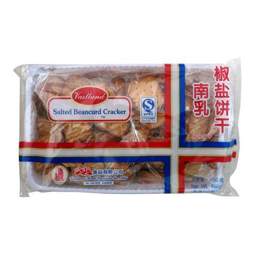 大地南乳椒盐饼干400g