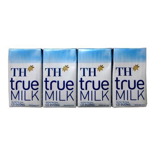 110ml越南TH TRUE 原味甜奶
