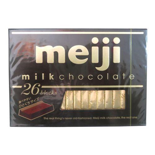 日本Meiji明治至尊牛奶巧克力(钢琴版)120g 26枚