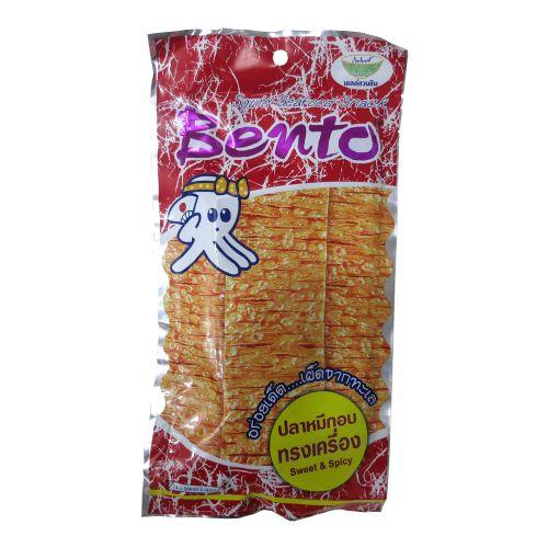 泰国Bento超味鱿鱼片(红色甜辣味)24g