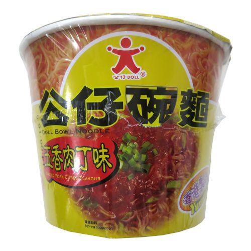 公仔碗面五香肉丁味116g
