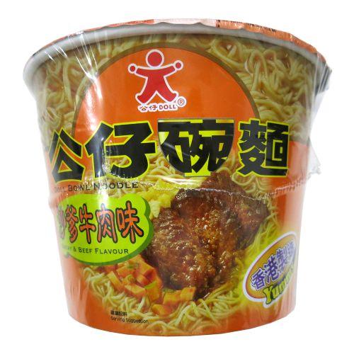 公仔碗面沙爹牛肉味120g