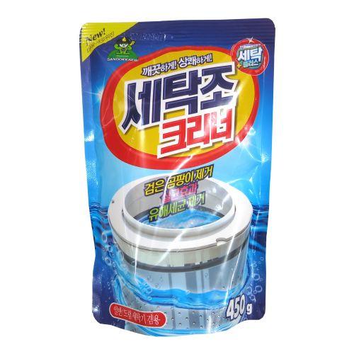 韩国山鬼洗衣机槽清洁剂 滚筒内筒清洁粉 除污垢杀菌消毒450g