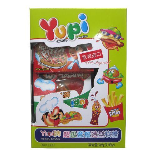 Yupi优皮橡皮糖超级套餐造型软糖225g