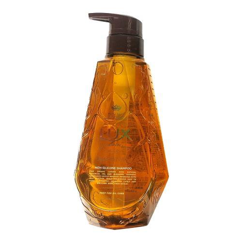 日本力士LUX无硅洗发水琥珀色澳洲坚果杏仁油配方 亮泽型450g