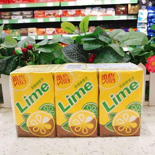 维他青柠柠檬茶250ml×6盒