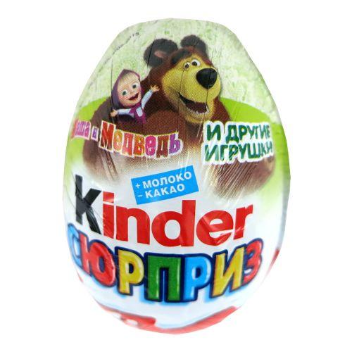俄罗斯健达kinder巧克力玛莎和熊奇趣蛋出奇蛋