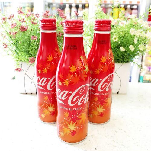 日本限量版铝瓶装可口可乐250ml