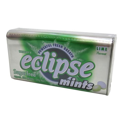 Eclipse易极无糖薄荷糖青柠34g
